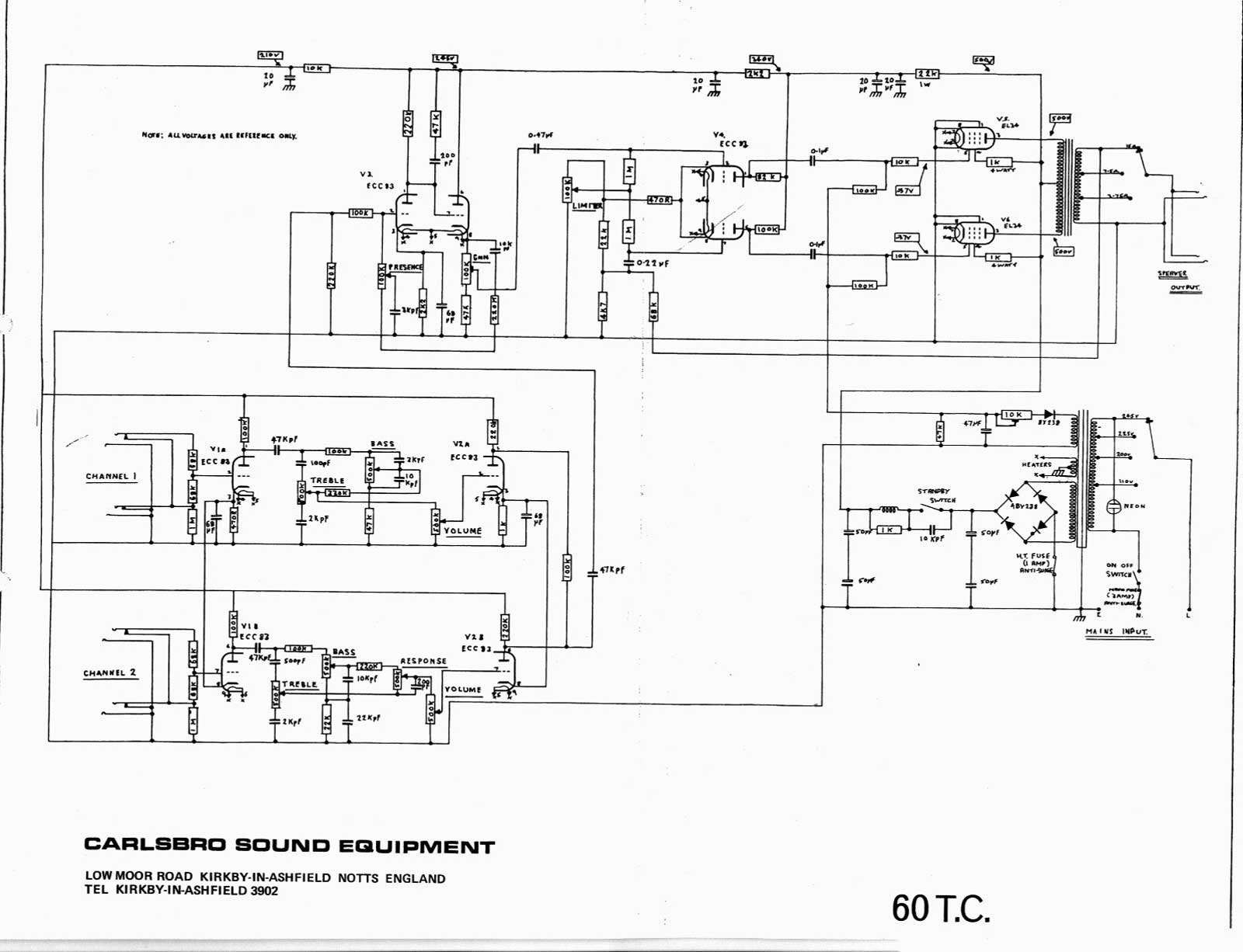 carlsbro 600 t c amp schematic rh chambonino com TC Helicon On Button Schematic Parts TC Helicon VoiceLive
