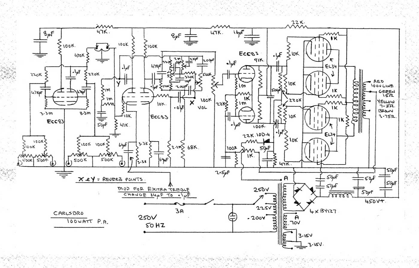 pa 300 wiring diagram speaker diagram wiring diagram