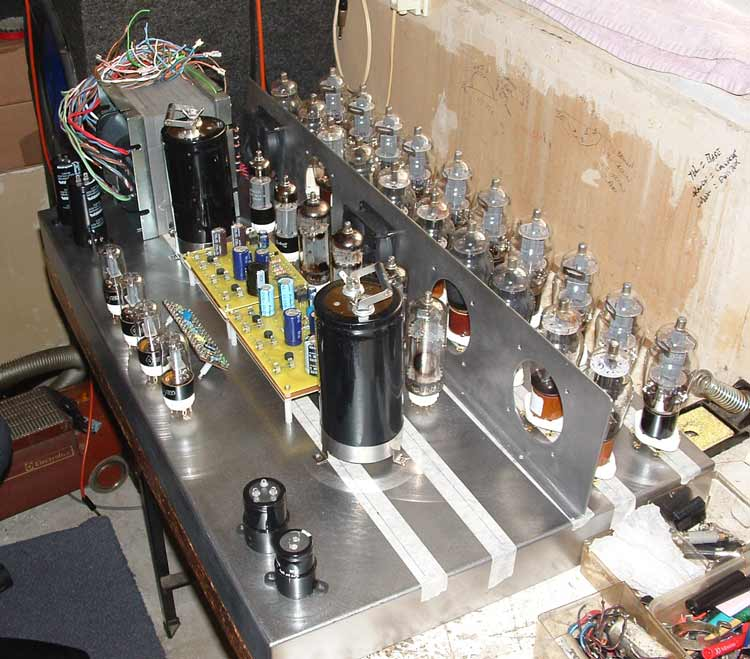 The 1000 all tube Beastial Amplifier!