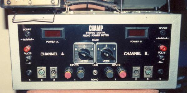 Champ Amplifier Tester