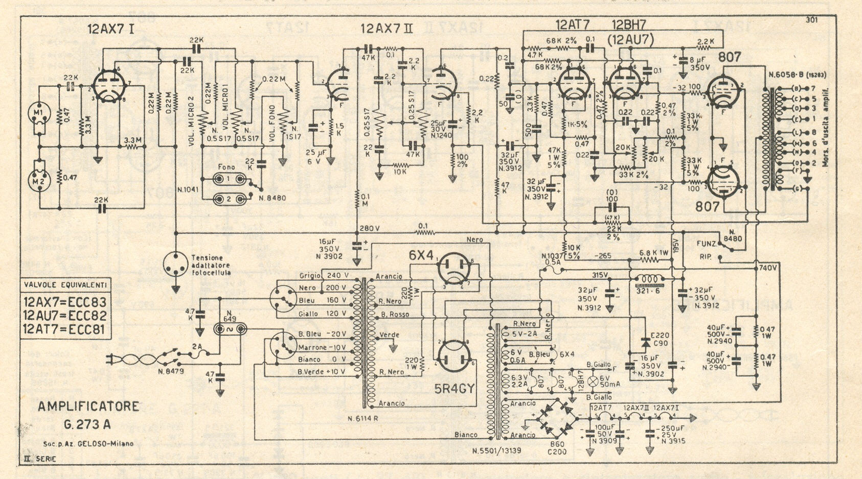 Geloso G273a Schematic Diagam Switch Diagram Suzukisavagecom Fictional Wiring G 273 A Rh Chambonino Com