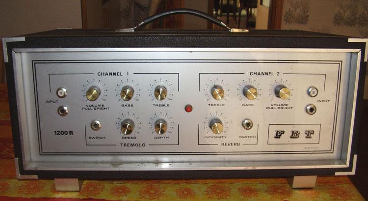FBT 1200R Amplifier Tube Conversion