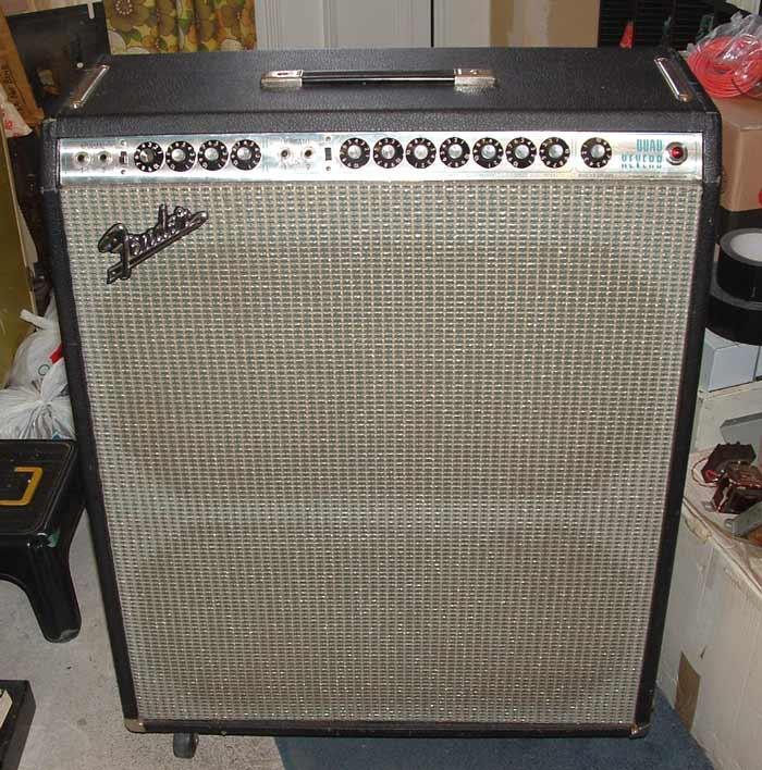 Servicing a Fender Quad Reverb Amp