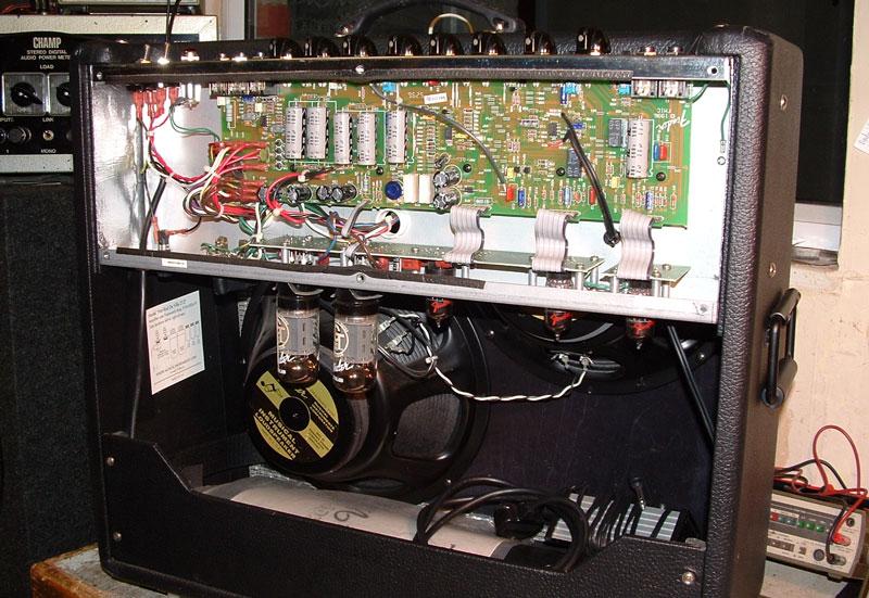 [SCHEMATICS_4CA]  Repair of a Fender De Ville Amp | Fender Deville Input Jack Wiring |  | Champ Electronics