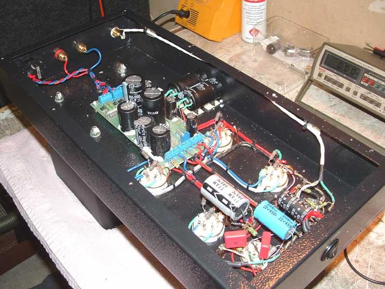 Servicing of a Musician OTL Hi-Fi Amplifier