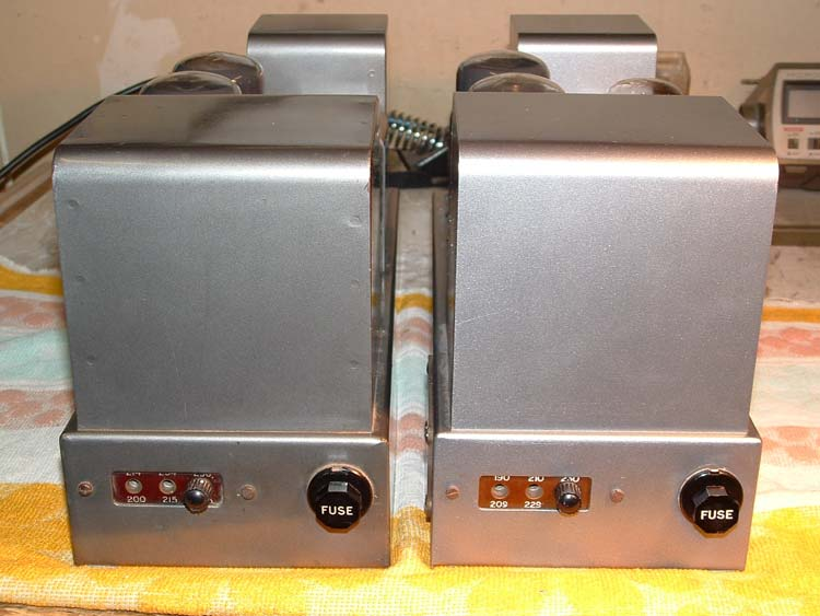 Servicing two Quad Hi-Fi Amplifiers