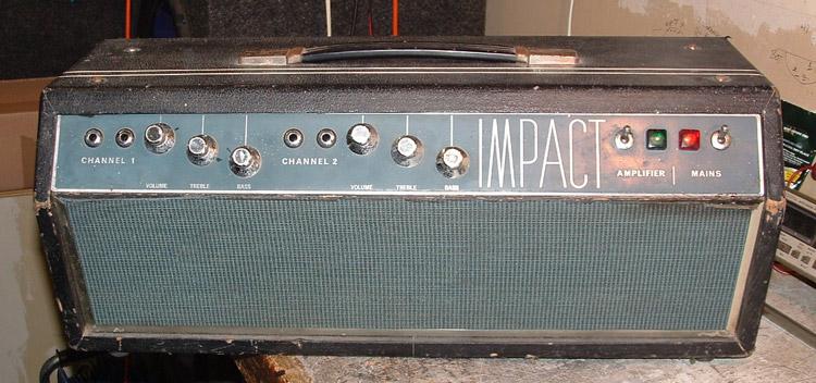 Repair of a Impact 60 Watt Guitar Amp Head