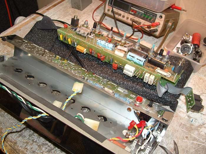 Repair Of A Peavey Classic 30 Amp