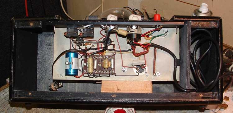 Servicing a JMI Domino Bass Amplifier Head