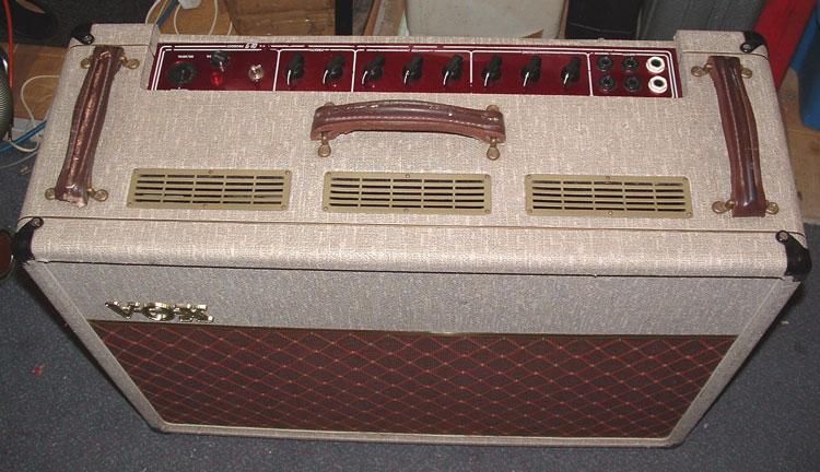 Repair of Three Vox AC30 Amps