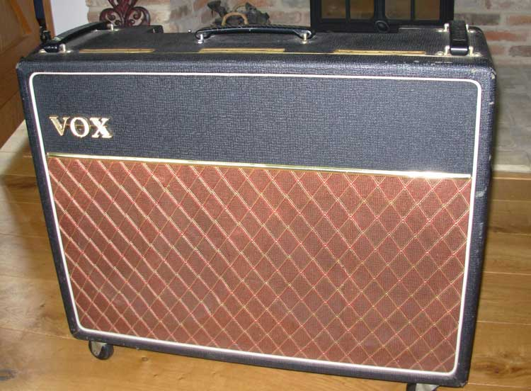 vox ac15 twin combo amp. Black Bedroom Furniture Sets. Home Design Ideas