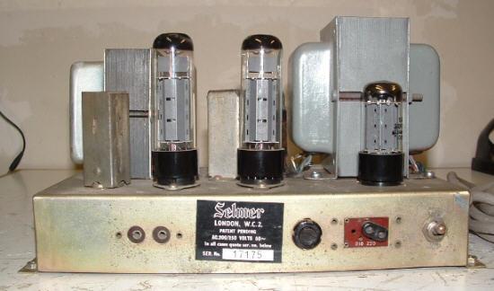 Selmer Zodiac Twin 50 Amplifier
